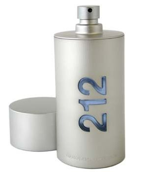 Carolina Herrera 212 Homme EDT 100 ml, ліцензія